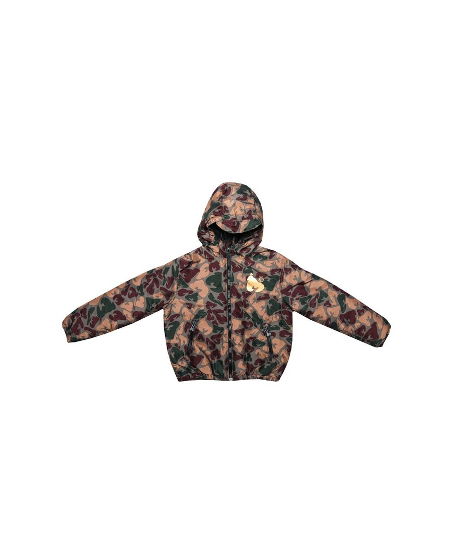 Image for Boy's Money Junior Camo Padded Windcheater in Camo