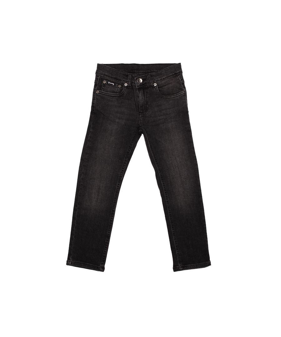 Image for Boy's Money Junior Skinny Dollar Jeans in Black