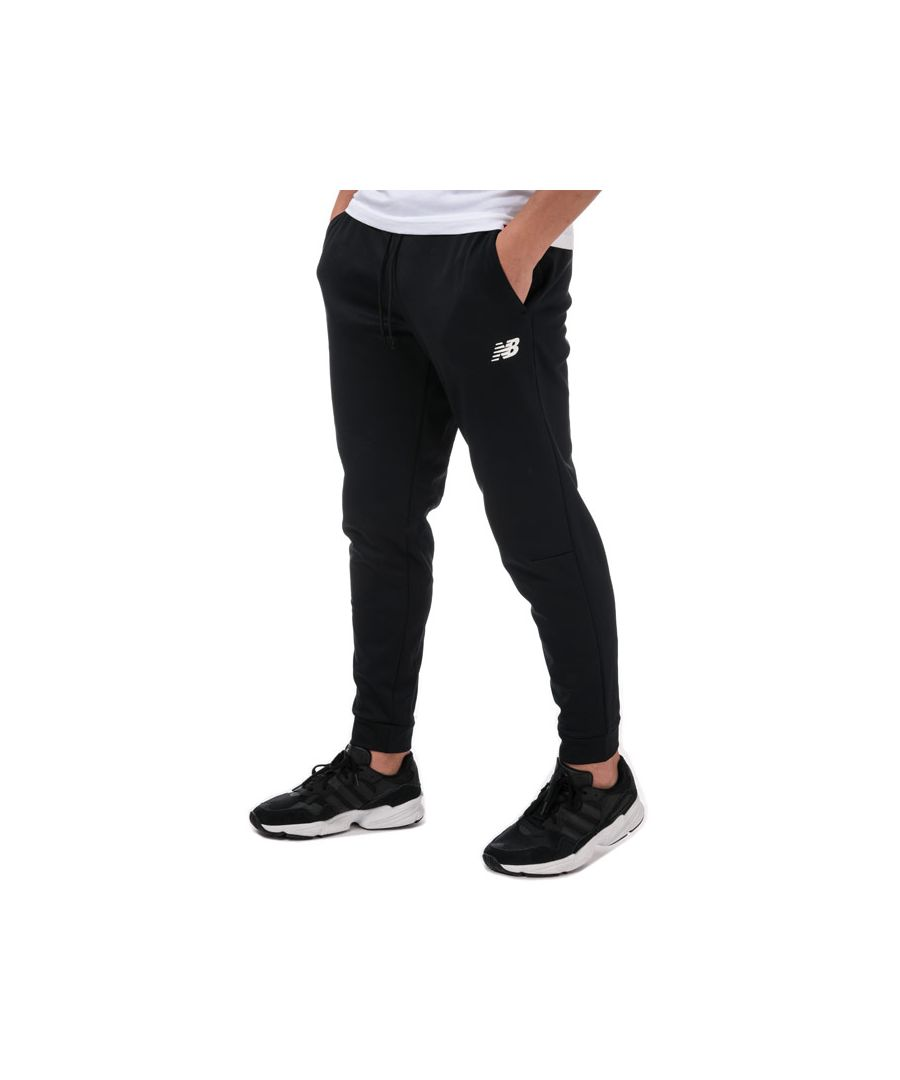 Image for Men's New Balance Tenacity Fleece Jog Pants in Black