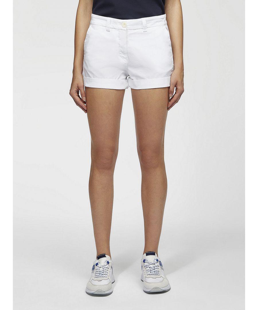 Image for Cotton Poplin Chino Shorts