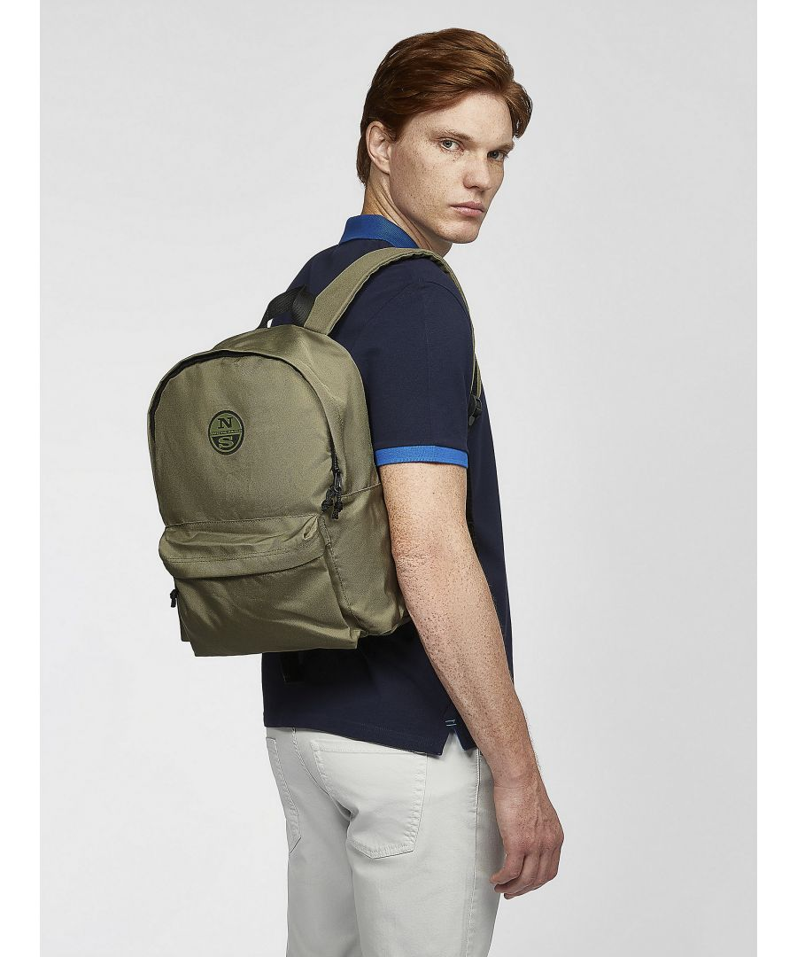 Image for Backpack In Recycled Fabric