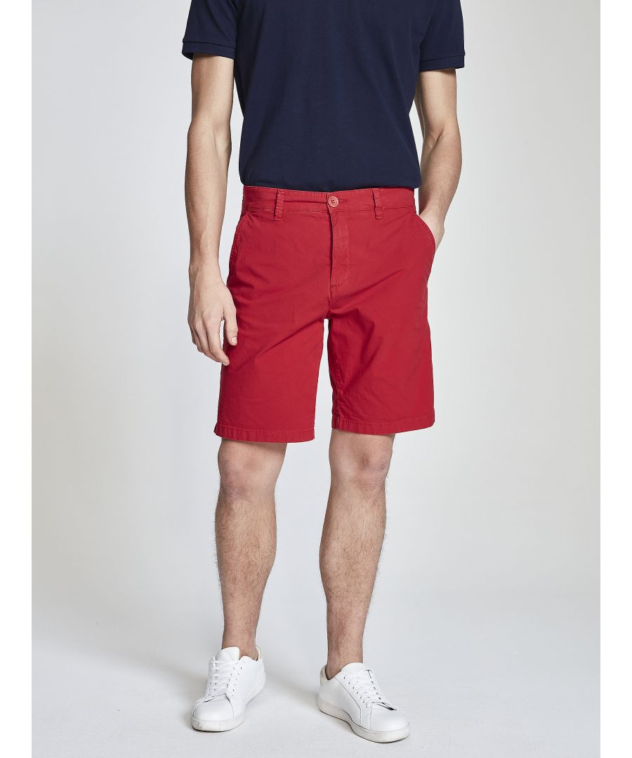 Image for Cotton Poplin Chino Shorts
