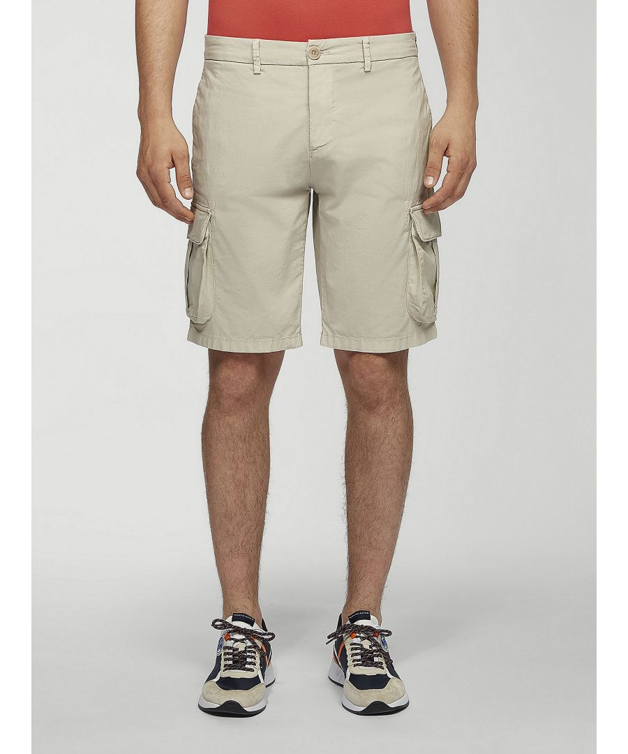 Image for Cotton Poplin Cargo Shorts