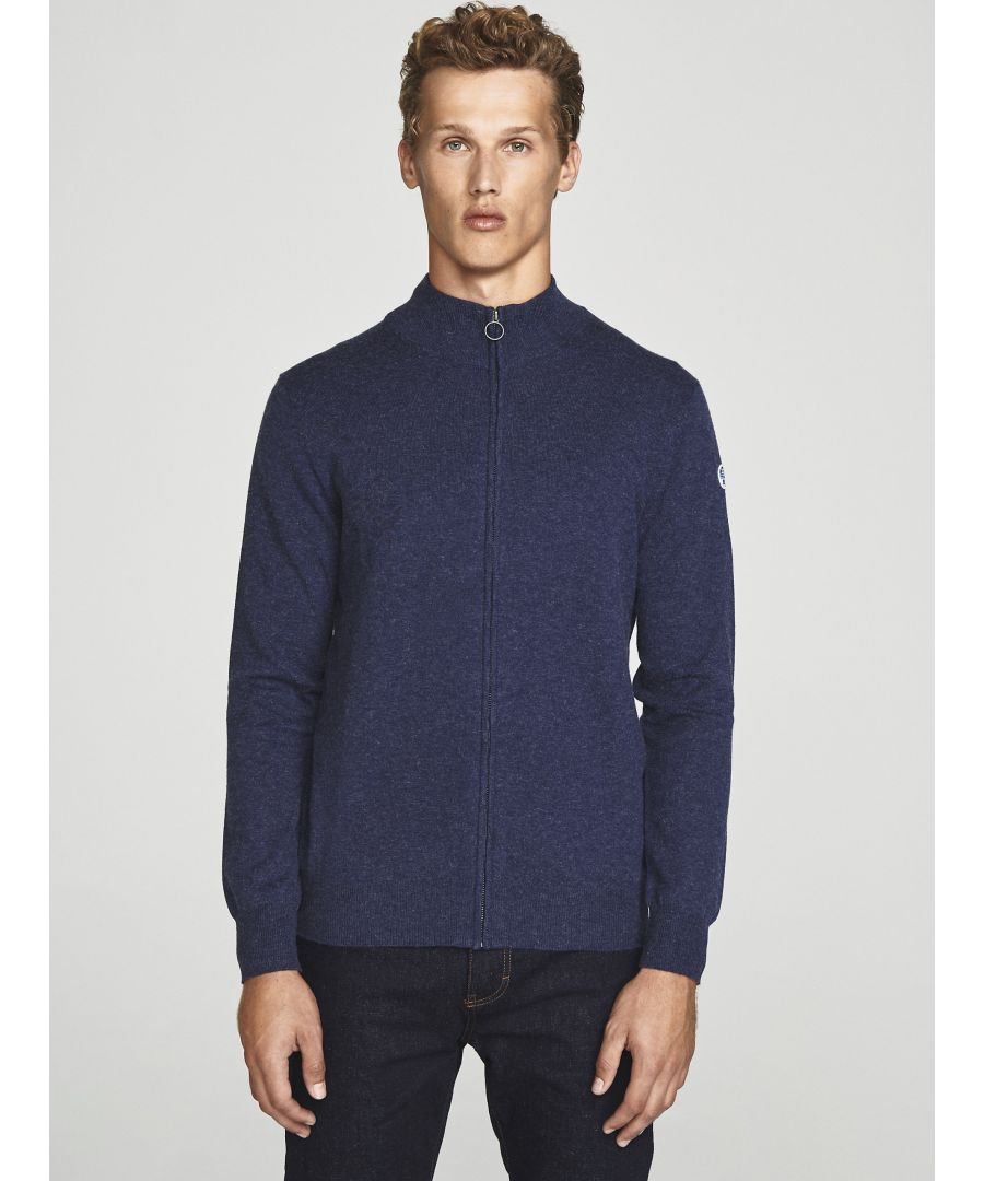 Image for Wool Zip-Up Cardigan