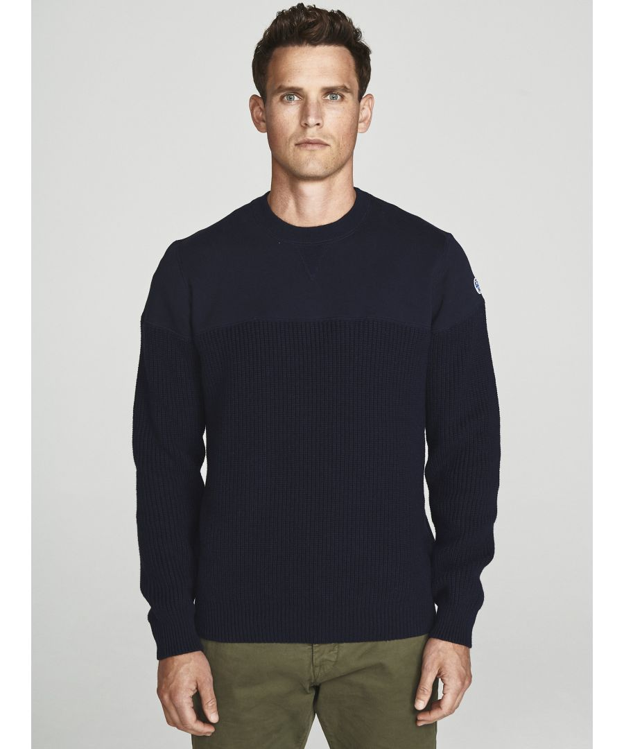 Image for Jumper In Wool And Jersey