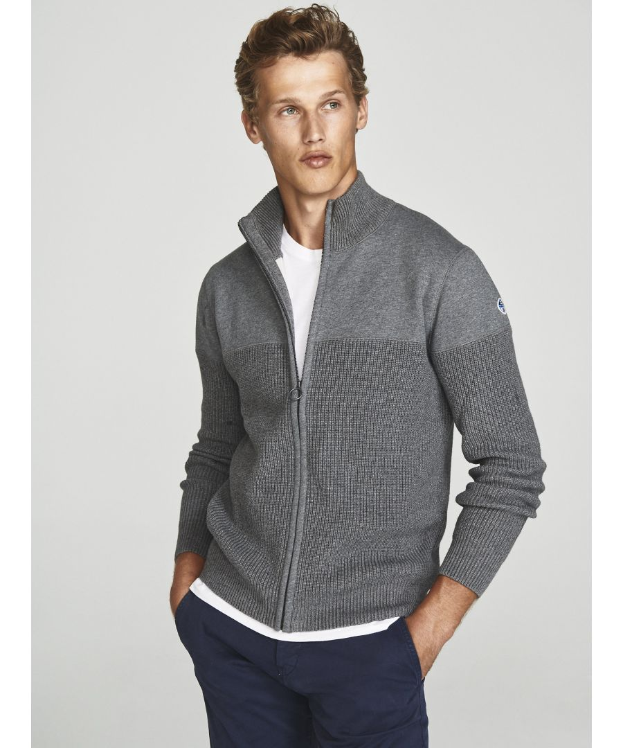 Image for Cardigan In Wool And Jersey