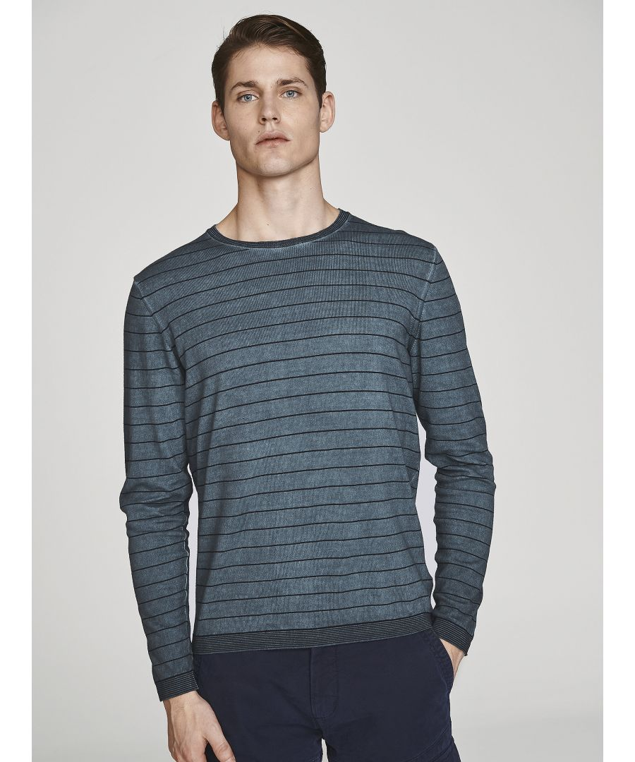 Image for Striped Cotton Jumper