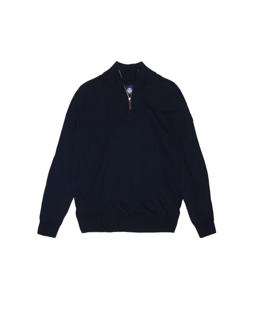 Image for Half-Zip Cotton Jumper