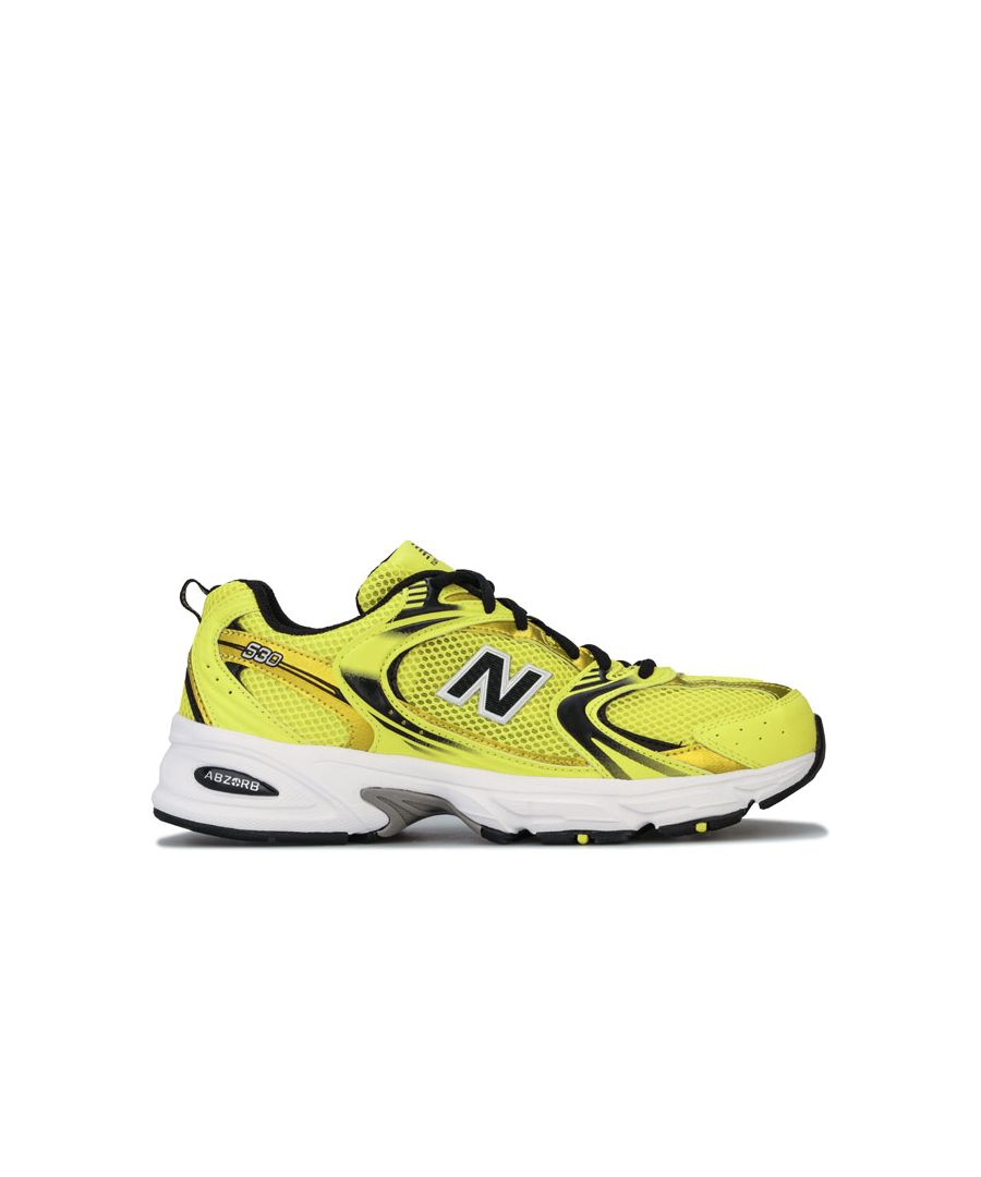Image for Men's New Balance 530 Trainers in Yellow