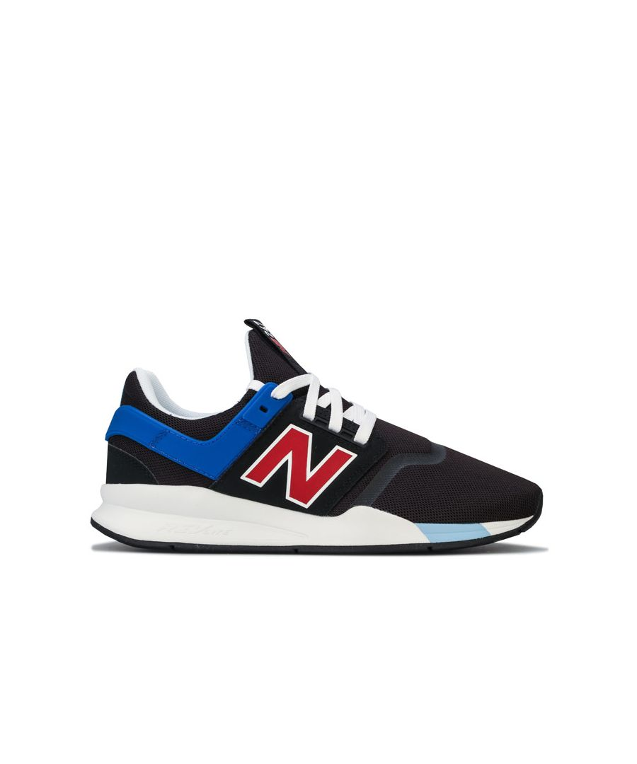 Image for Men's New Balance 247v2 Trainers in black blue
