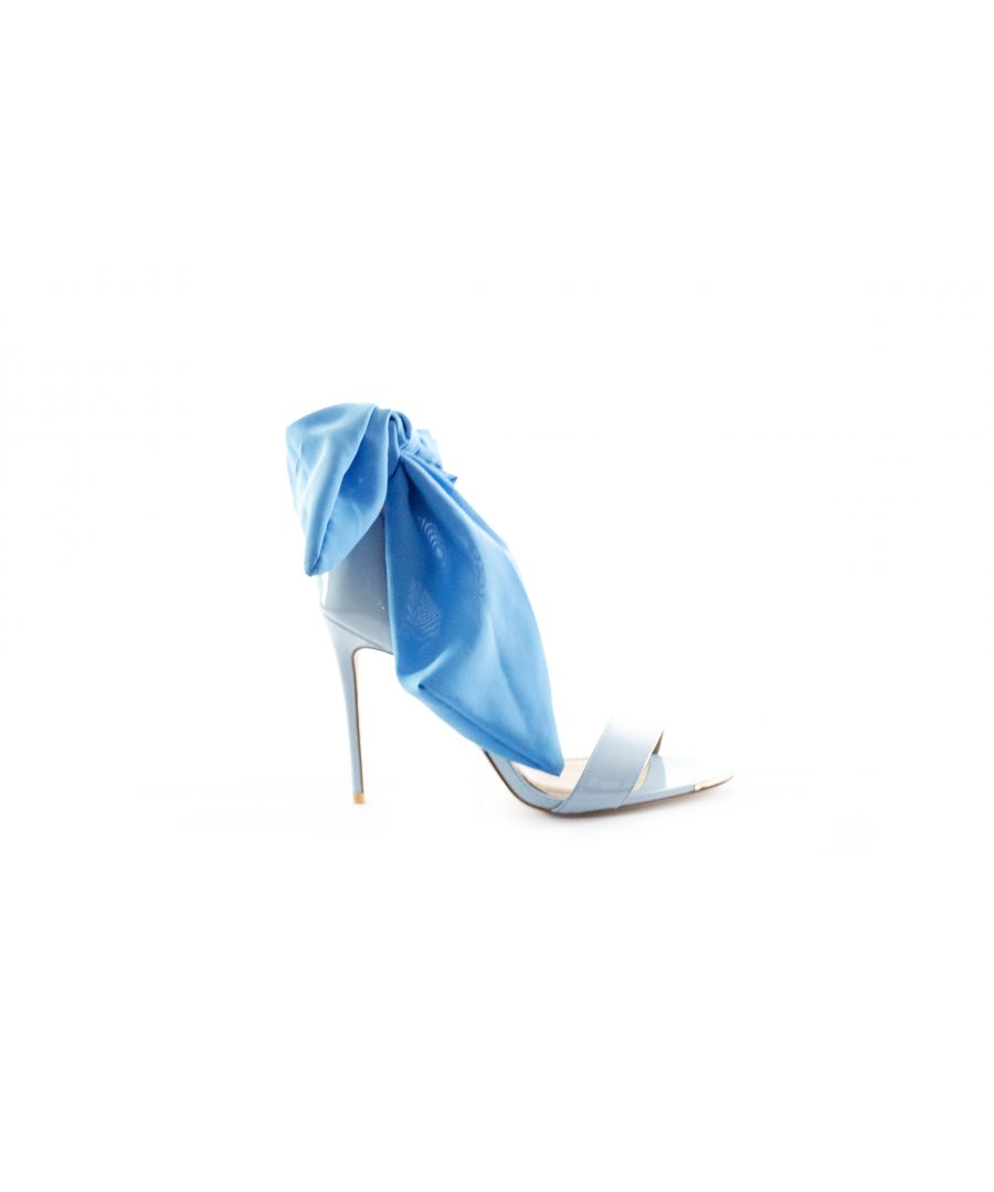 Image for Something Blue Gebria Heeled Leather Sandal
