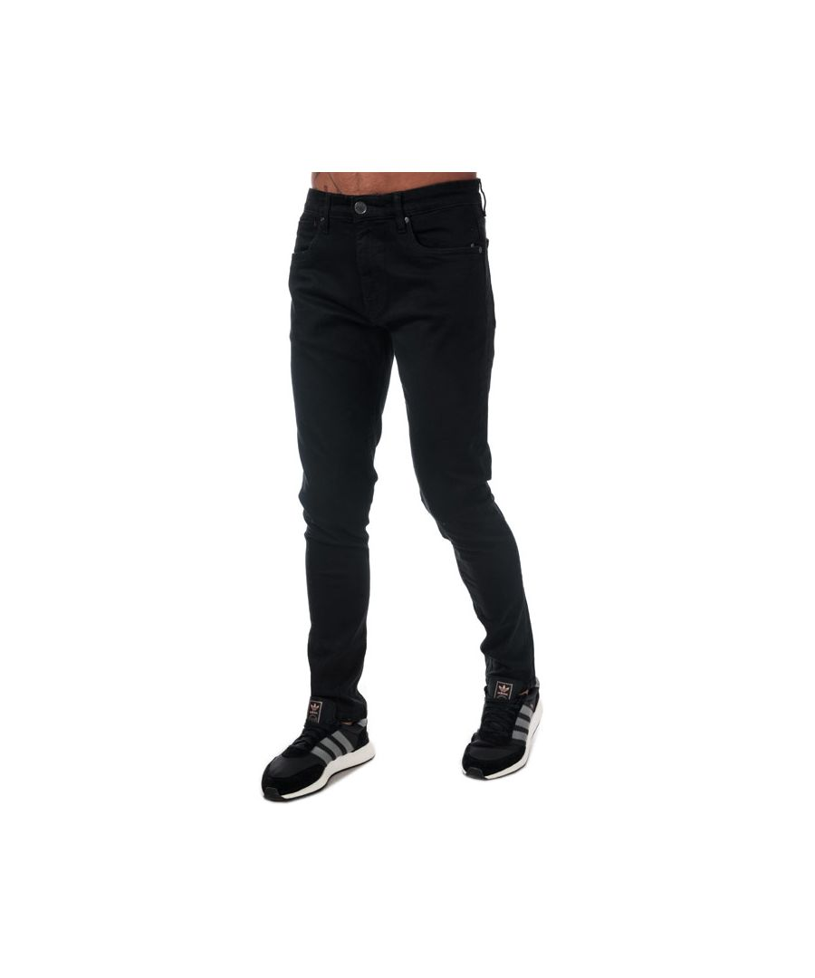 Image for Men's Ringspun Oberon Skinny Fit Jeans in Black
