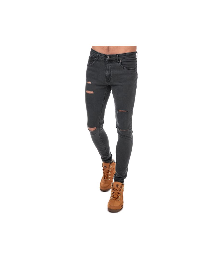 Image for Men's Ringspun Hercules Skinny Fit Jeans in Gunmetal