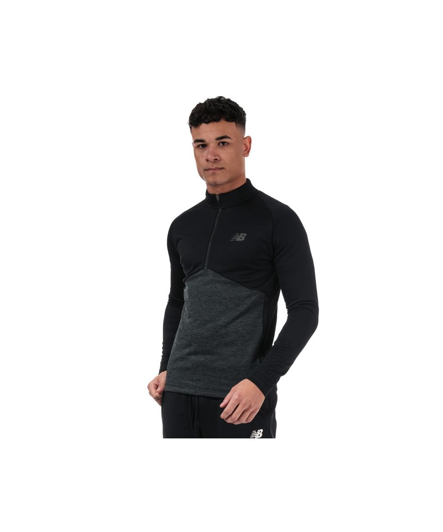 Image for Men's New Balance Core Knit Drill Top in Black