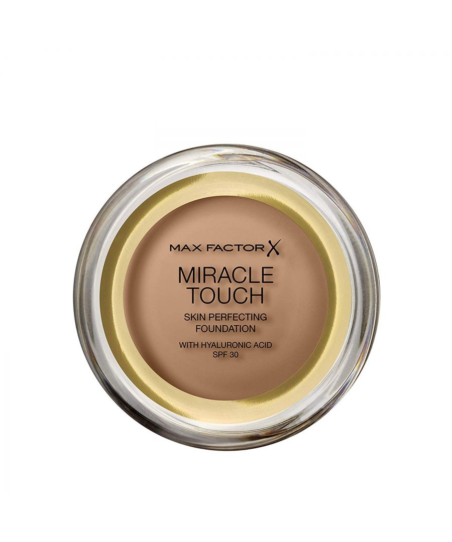 Image for Max Factor Miracle Touch Skin Perfecting Foundation SPF30 - 83 Golden Tan