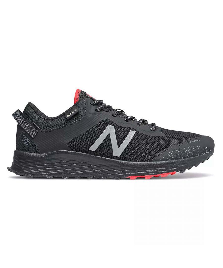 Image for New Balance Fresh Foam Arishi Gore-Tex Mens Trail Running Shoe Black - UK 12.5