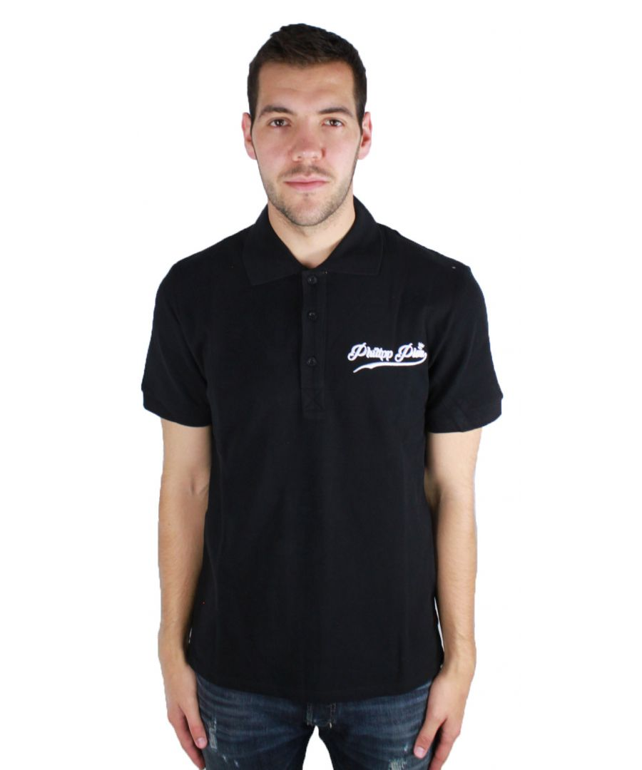 Image for Philipp Plein Fine MTK0052 0201 Polo Shirt