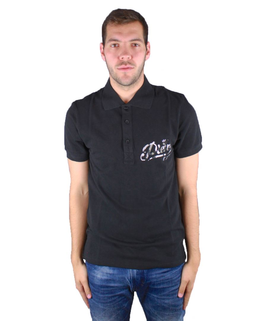 Image for Philipp Plein Chemical MTK0053 0201 Polo Shirt