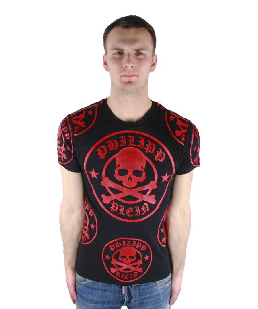 Image for Philipp Plein Plum MTK0226 02R4 T-Shirt