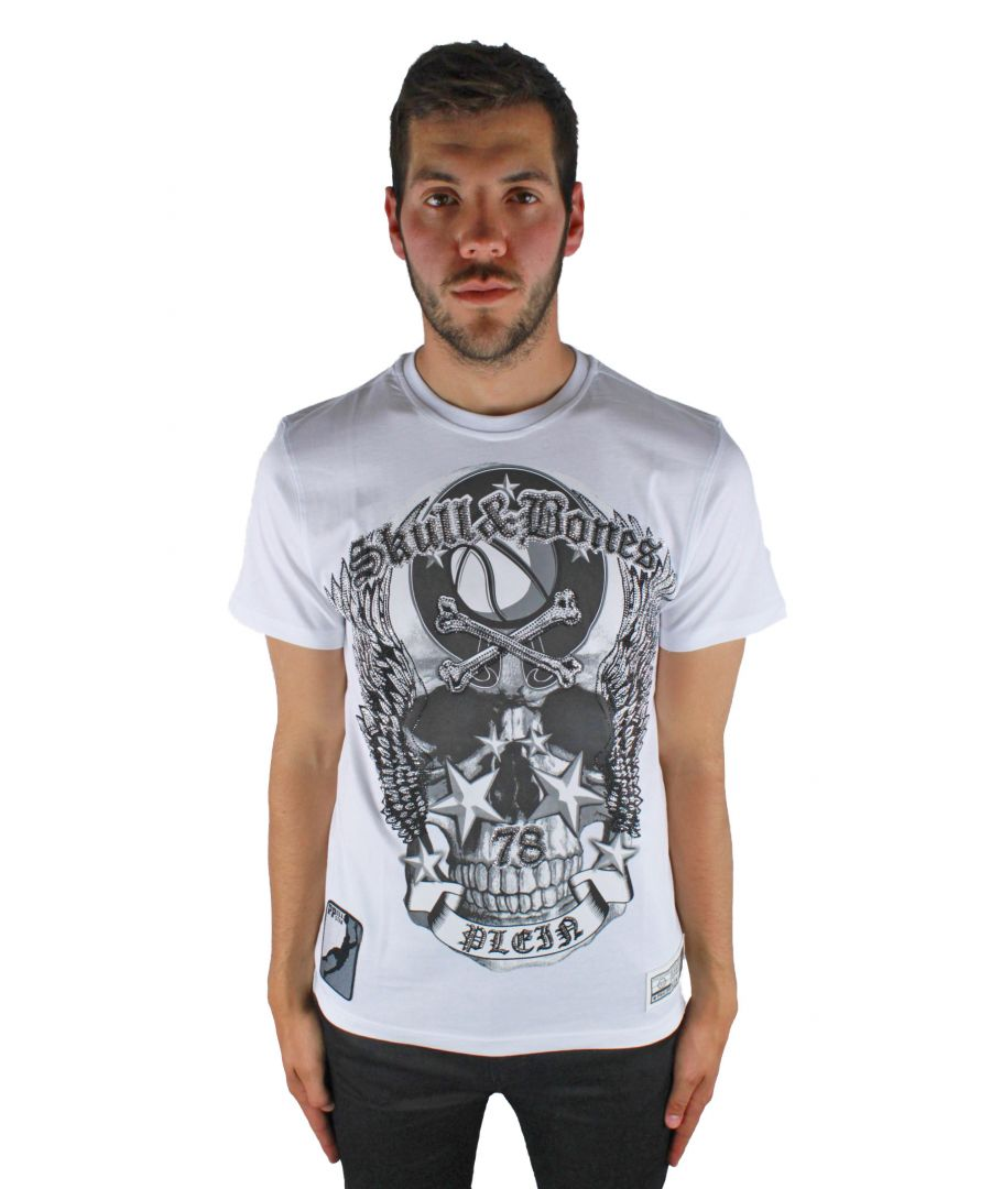 Image for Philipp Plein Olive MTK0324 01 T-Shirt