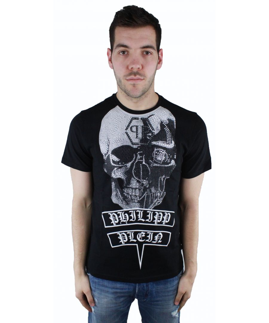 Image for Philipp Plein Utako Hotfix MTK1049 01 T-Shirt