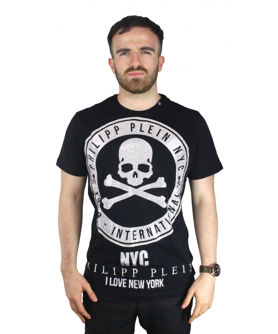 Image for Philipp Plein MTK1246 Eddie 02 T-Shirt