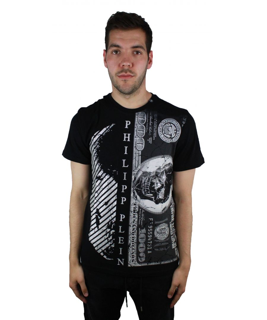 Image for Philipp Plein Kent MTK1281 02 Black T-Shirt