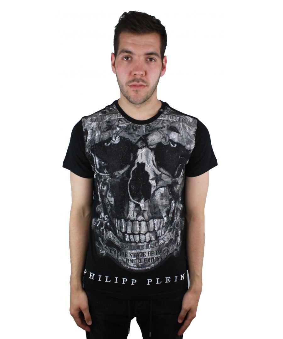 Image for Philipp Plein Limited MTK1449 02 T-Shirt Black
