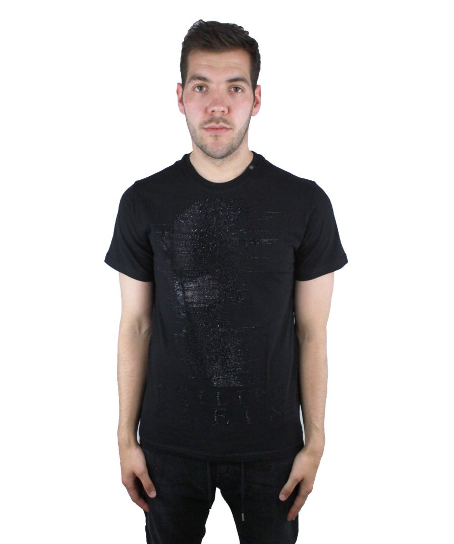 Image for Philipp Plein Ghost-S MTK1857 0202 Black T-Shirt