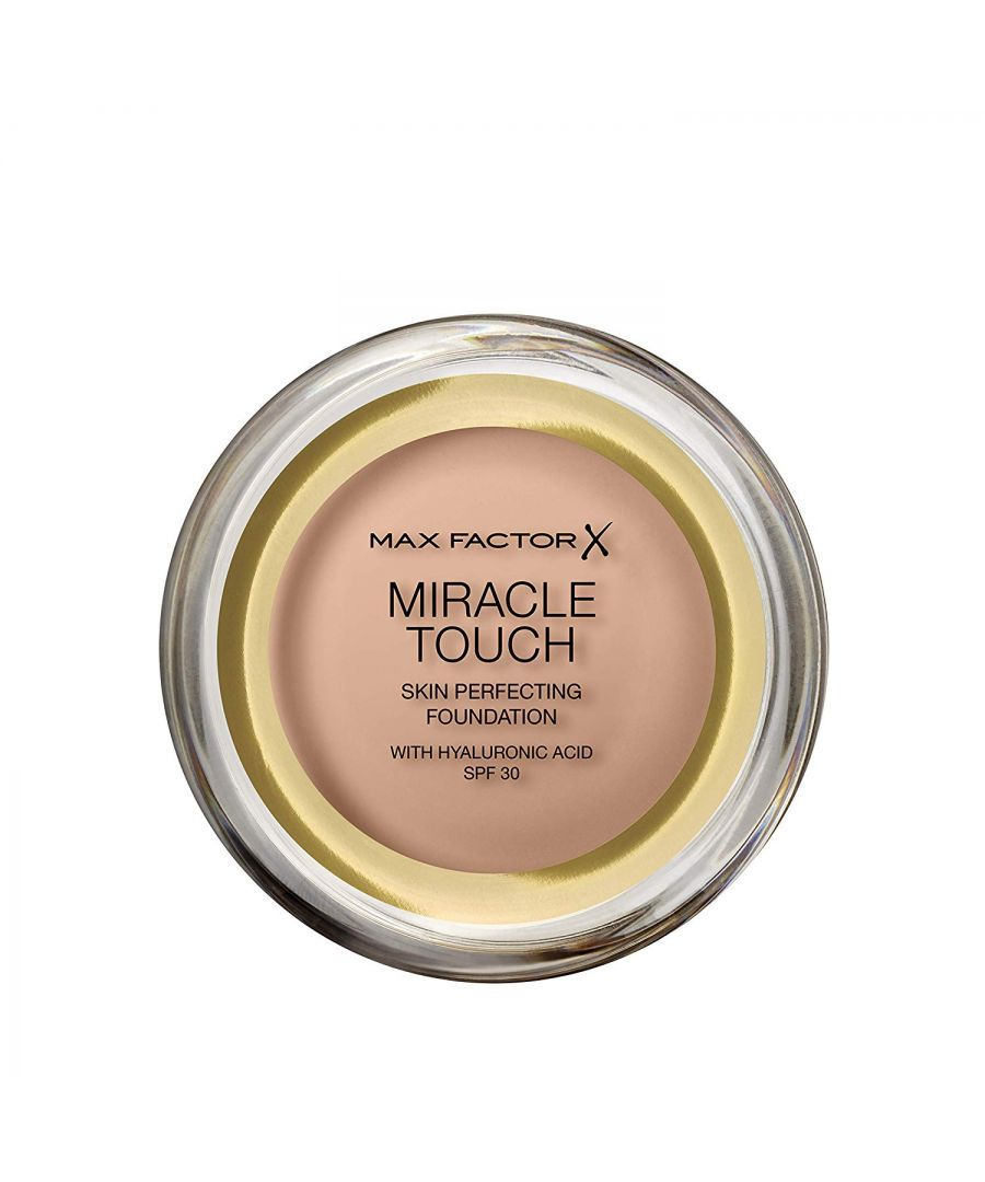 Image for Max Factor Miracle Touch Skin Perfecting Foundation SPF30 - 45 Warm Almond