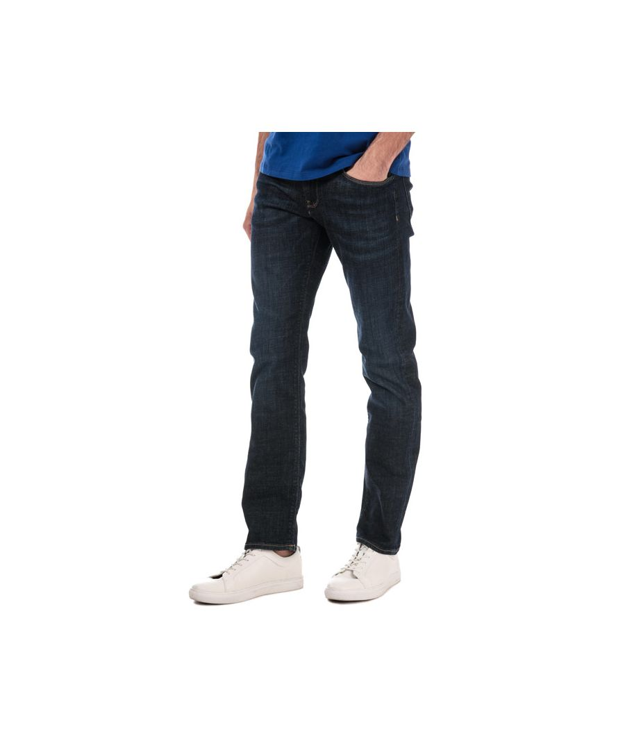 Image for Men's Tommy Hilfiger Denton Straight Fit Denim Jeans in Indigo