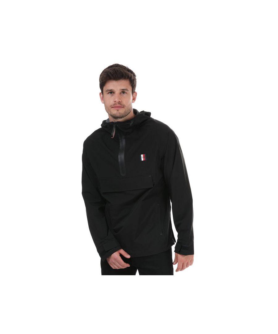 Image for Tommy Hilfiger Men's Popover Jacket in Black