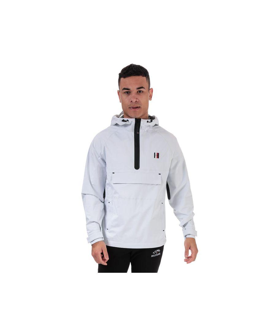 Image for Tommy Hilfiger Men's Popover Jacket in White
