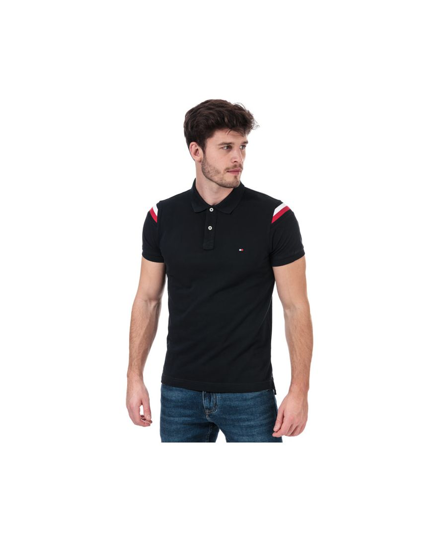 Image for Men's Tommy Hilfiger GS Insert Polo Shirt in Navy