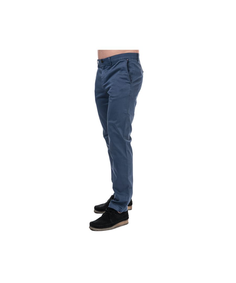 Image for Men's Tommy Hilfiger Denton TH Flex Straight Fit Chinos in Blue