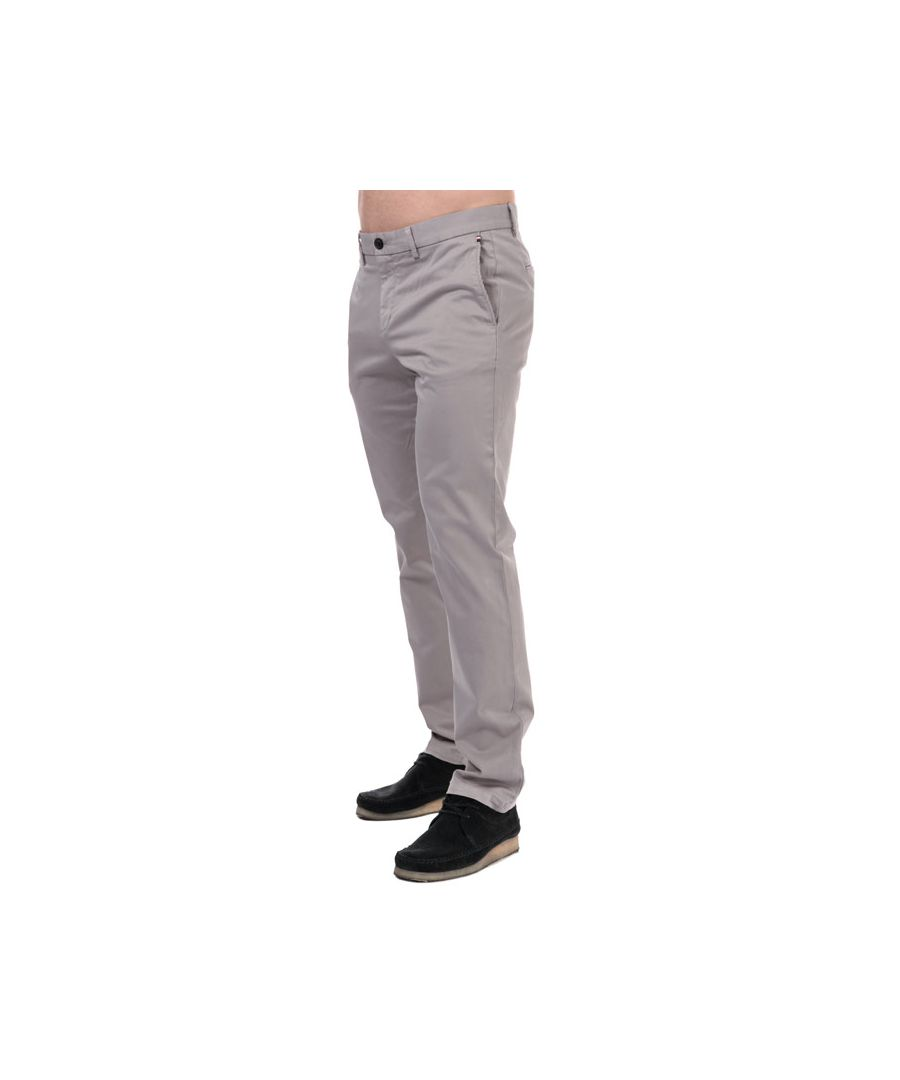 Image for Men's Tommy Hilfiger Denton TH Flex Straight Fit Chinos in Grey