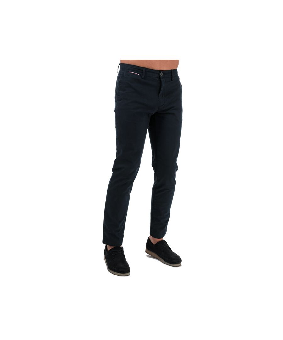 Image for Men's Tommy Hilfiger Tapered Chinos in Navy