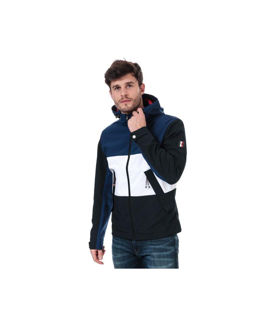 Image for Men's Tommy Hilfiger Flex Colour Block Jacket in Blue