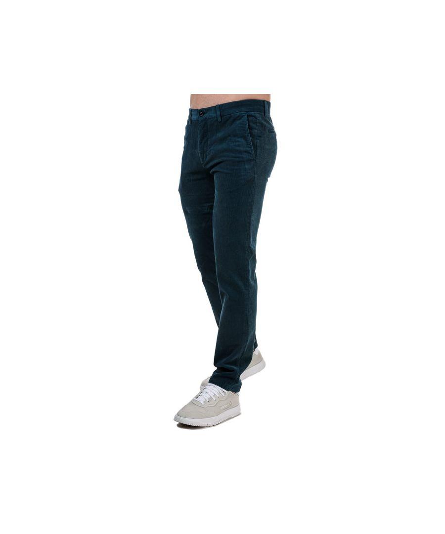 Image for Tommy Hilfiger Men's Denton Corduroy Pants in Blue