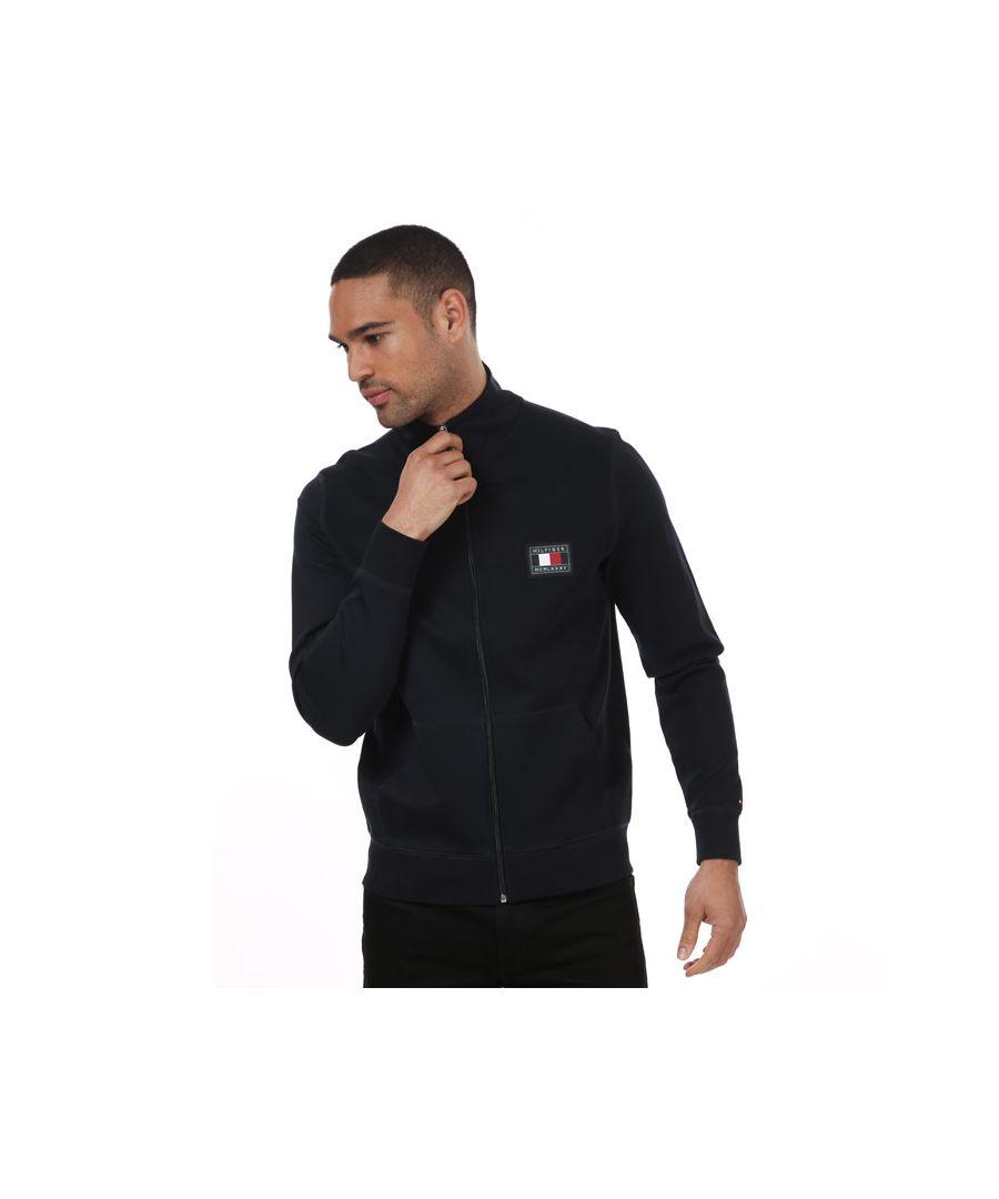 Image for Men's Tommy Hilfiger Essential Zip Sweatshirt Navy Sin Navy