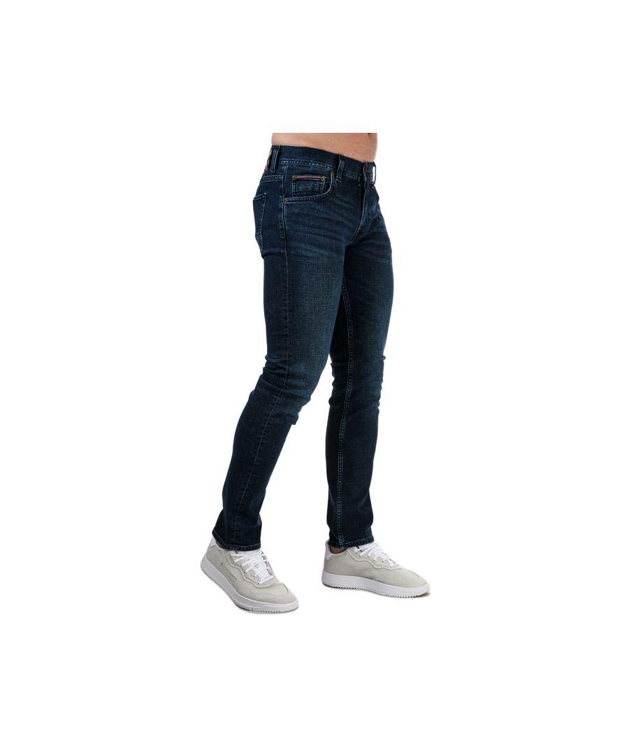 Image for Men's Tommy Hilfiger Denton Bridger Straight Jeans Blue 30Sin Blue