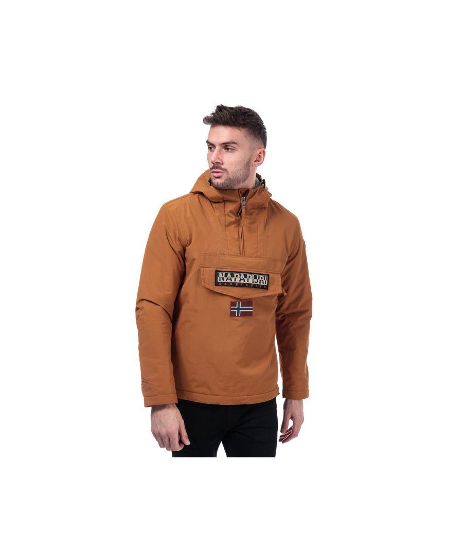 Image for Men's Napapijri Rainforest Winter Jacket in Brown