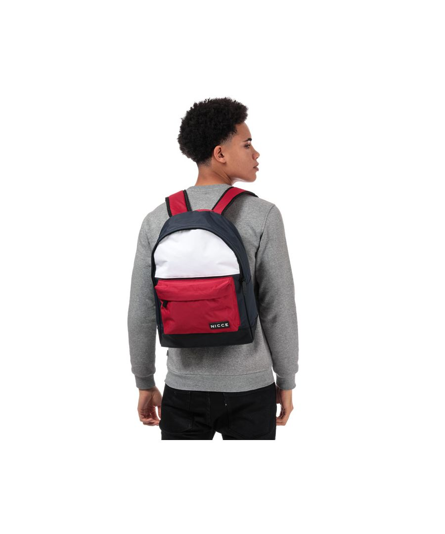 Image for Accessories NICCE Kora Zip Pocket Backpack in Navy Red