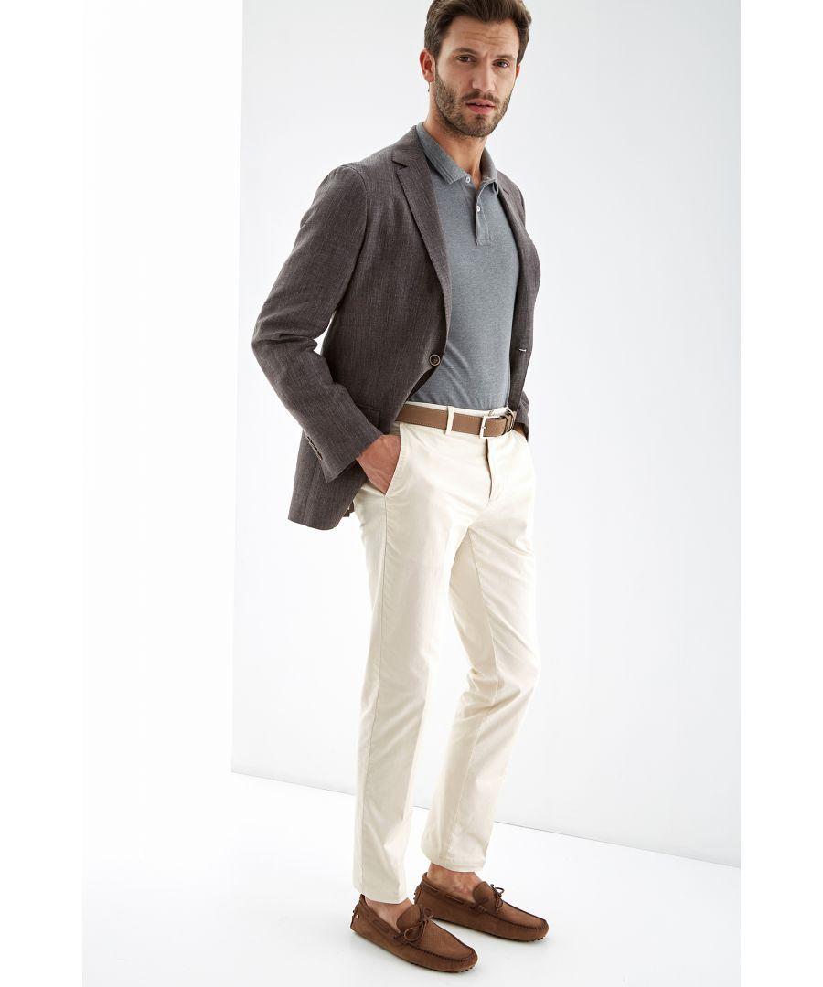 Image for Men s Linen Slim Fit Blazer