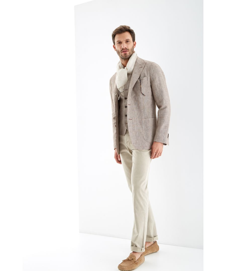 Image for Men s Pied de Poule Classic Blazer