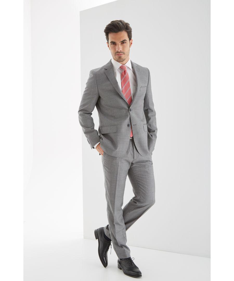 Image for Men s Birdeye Slim fit Classic Suit