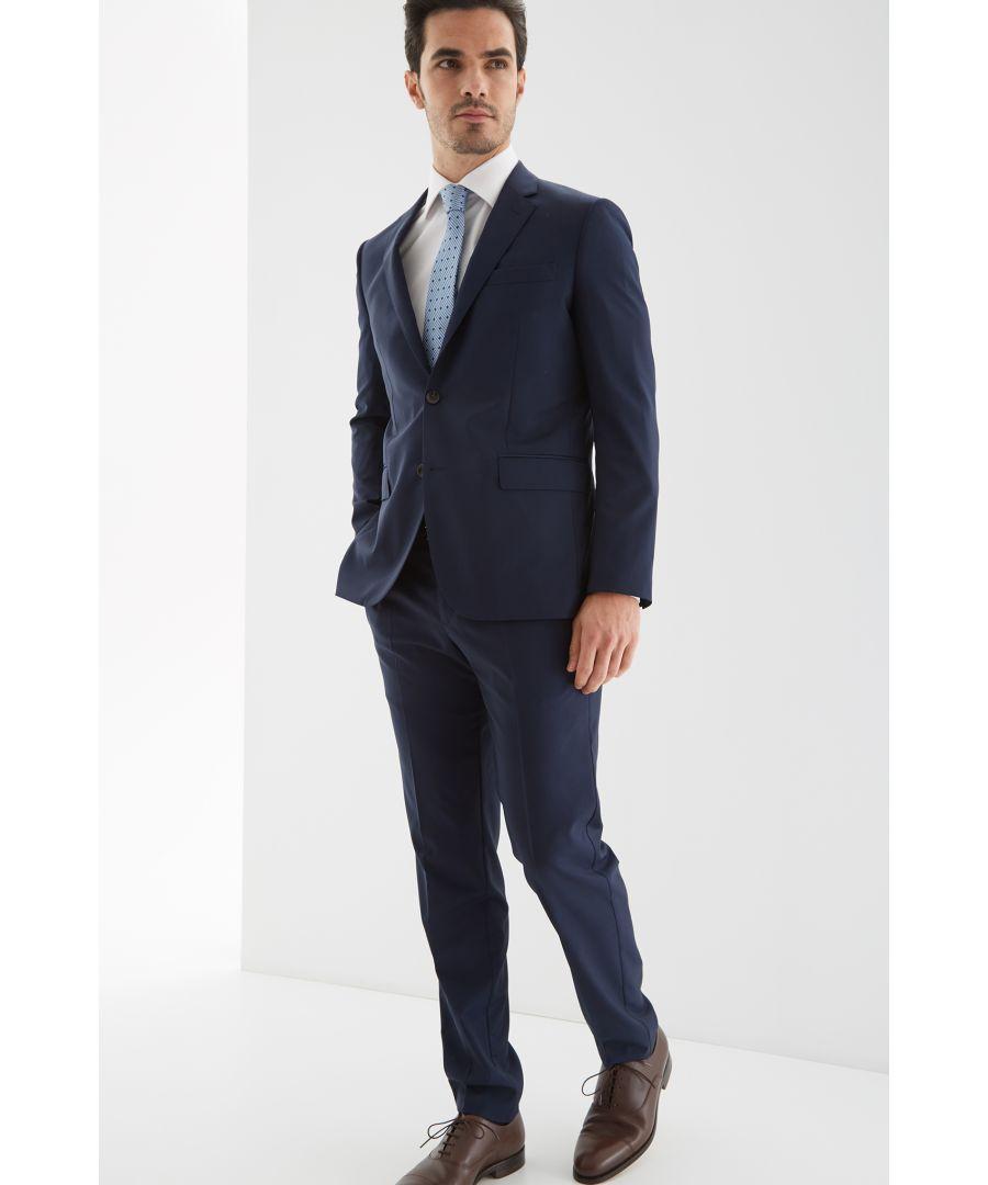 Image for Men s Slim Fit Classic Plain Suit.