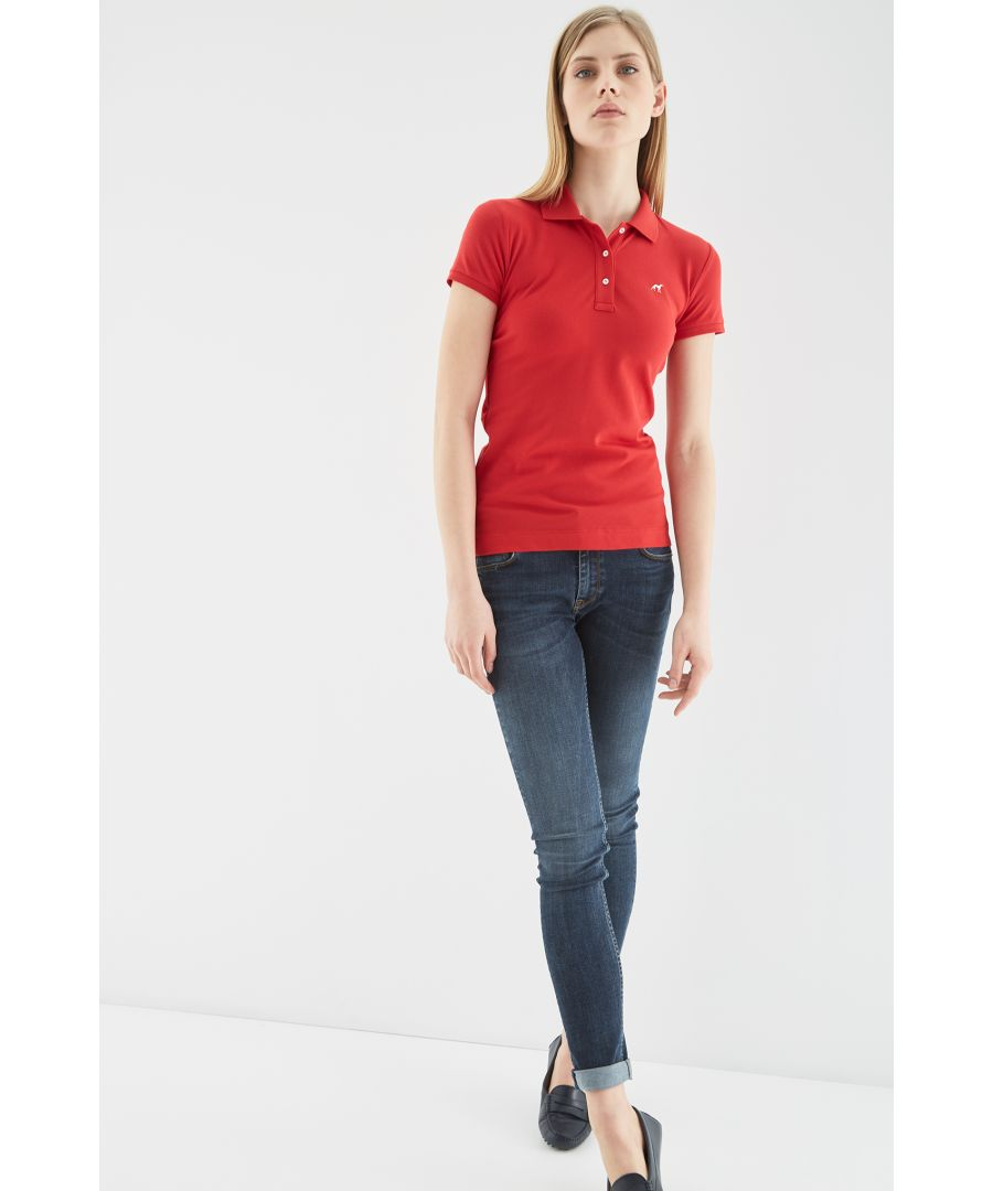Image for Women s Basic Piquet Polo