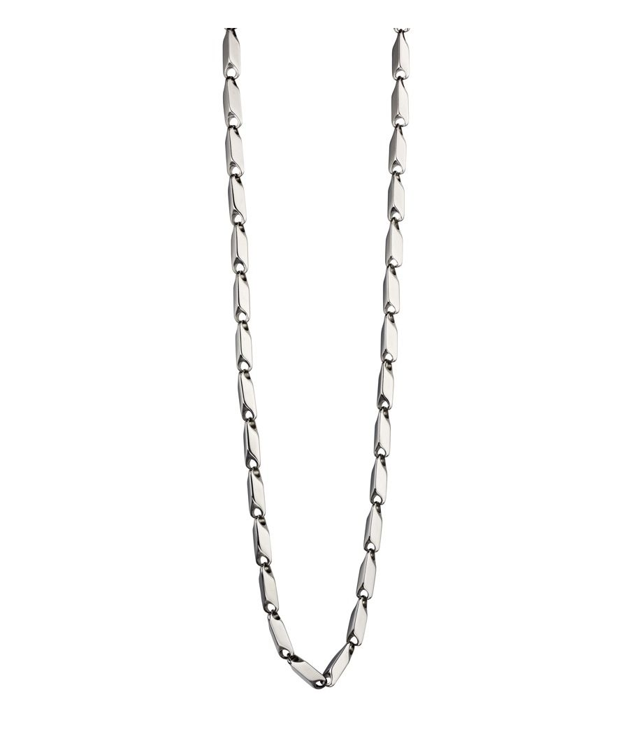 Image for Fred Bennett Men Silver Chain Necklace of Length 50cm N4147
