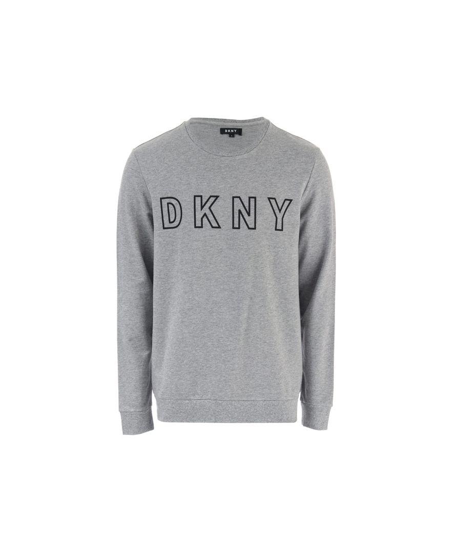 Image for Men's DKNY Vikings Long Sleeved Top in Grey Marl